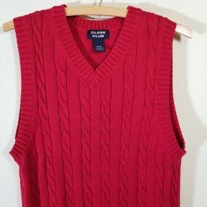 Class Club Cable Vest, 16 / 18